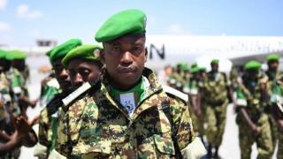 Ciidamadan cusub ayaa badalaya kuwii horey Burundi uga joogay Soomaaliya.