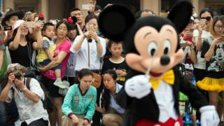 Mickey Mouse in Disney Shanghai