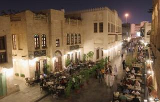 Souk Waqif was torn down - and rebuilt in replica