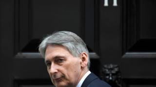 英国财政大臣哈蒙德