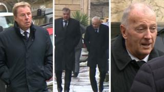 Harry Redknapp, Sam Allardyce, Peter Reid, Trevor Francis