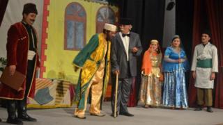 Ağdam teatrı tamaşa Azərbaycan