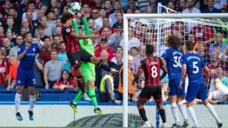 Chelsea v Bournemouth, September 2018