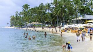 Praia na Bahia