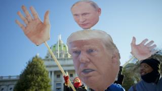 Путин и Трампа