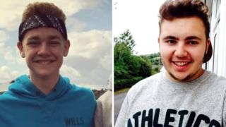 Connor Williams and Conor Tiley