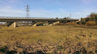 Carrington bridge in Worcester