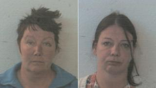 Mandy Sargent and Joanne Brownhill