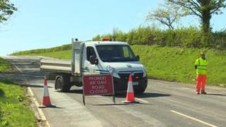 The crash happened on the A543 between Groes and Denbigh