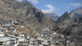 Village in Dagestan, file pic