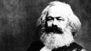 Foto de Karl Marx.