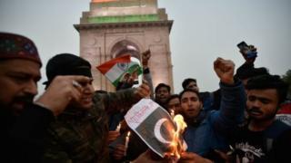 انڈیا میں احتجاج