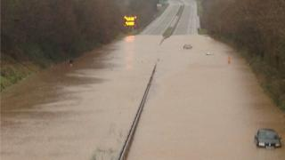 The A55 was shut late in 2015 after it badly flooded
