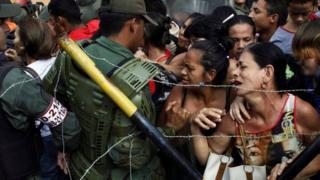 dibad baxyada dalka Venazuela