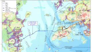 港珠澳大桥是首个设在香港西岸的陆路过境口岸。