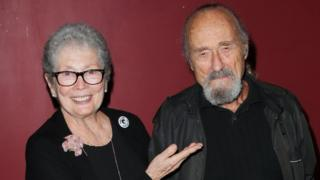 Dick Miller with Jackie Joseph in 2005