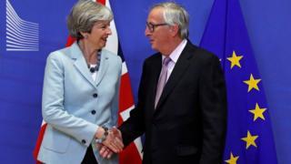英国首相与欧盟委员会主席