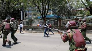 Imyigaragambyo muri Kenya