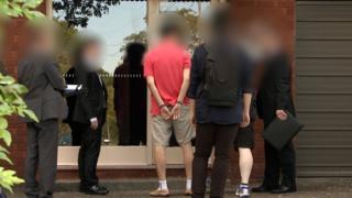Australian police arrest Chan Han Choi