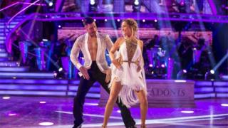 Laura whitmore dancing with Giovanni Pernice.