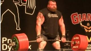Eddie Hall at a previous event