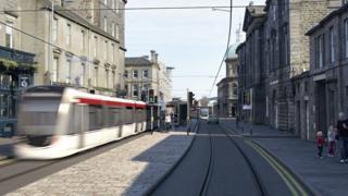 tram artist impression