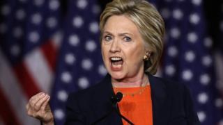 Выступление Хиллари Клинтон во время предвыборной кампании
