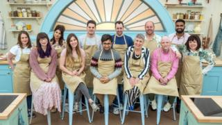 This year's Bake Off Contestants