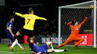 Ẹgbẹ agbabọọlu Chelsea ninu idije Premier League pẹlu Watford