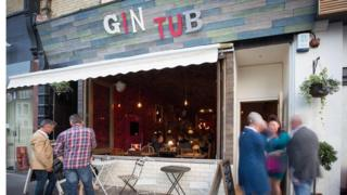 The Gin Tub bar in Hove