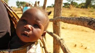 Baby in Zambia