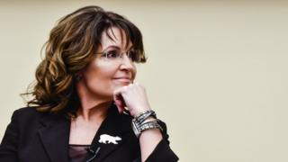 Former Governor Sarah Palin speaks during the 'Climate Hustle' panel discussion at the Rayburn House Office Building on April 14, 2016 in Washington, DC
