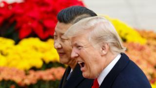 Donald Trump y Xi Jinping.