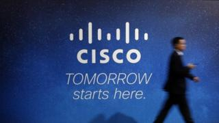 Cisco advertising board