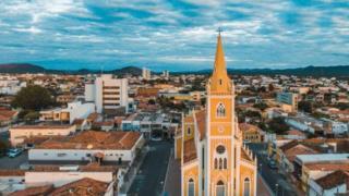 Vista aérea de Serra Talhada