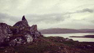 View at Loch Ceann Hulabhig.