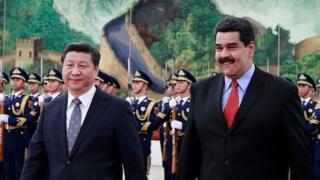 Xi Jinping y Maduro.