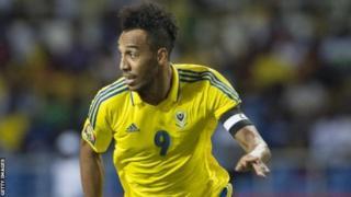 Pierre-Emerick Aubameyang n'a joué que deux des cinq matchs du Gabon pour les éliminatoires de la CAN 219.