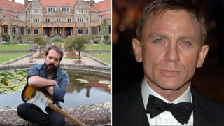 Todd Sharpville and James Bond actor Daniel Craig