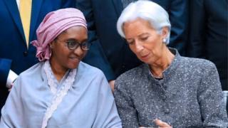 Zainab Ahmed and IMF Christine Laggard