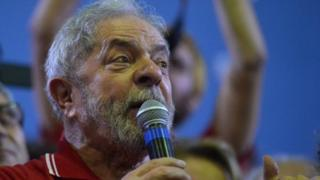 Former Brazilian President Luiz Inacio Lula da Silva. Photo: 4 March 2016