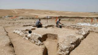 An ancient mosque found in the Israeli desert