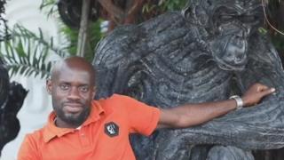 Nkocha Ernest, le sculpteur de pneus