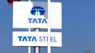 Tata steel signs