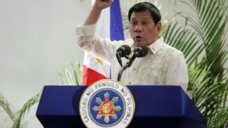 Tổng thống Philippines Rodrigo Duterte