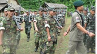 KNU တပ်မဟာ ၅ တပ်သားများ