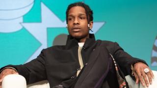 A$AP Rocky en una entrevista televisiva.