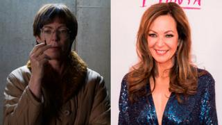 Allison Janney in I, Tonya - and as herself