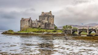 Anthony Morris, from Oxford, took this picture of Eilean Donan