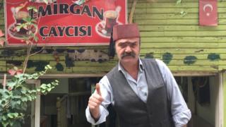 Ankara'daki milliyetçi tabanın uğrak mekanlarından olan Emirgan Çaycısı'nın sahibi Atilla Yaylagül
